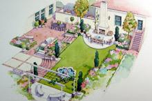 Garden, Deck and Landscape