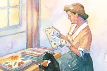 Handkerchief Quilt Book